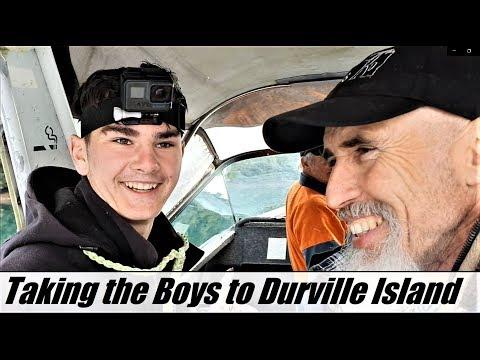 Taking Keen Boys Hunting & Fishing On  D'urville Island