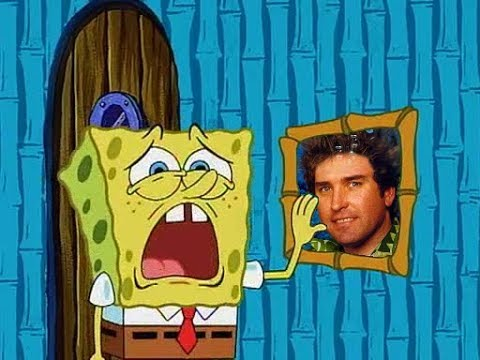 A Farewell To Stephen Hillenburg Portrayed By SpongeBob