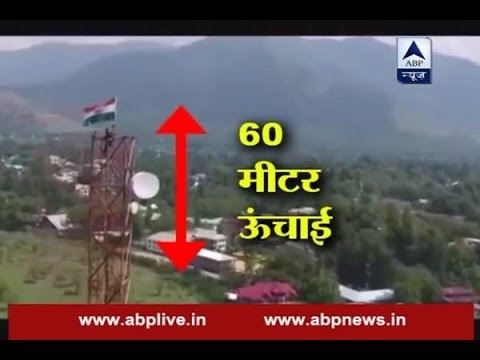 Kashmir: Brave CRPF jawan climbs on top of mobile tower to hoist Indian flag