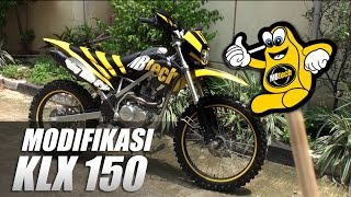 Modifikasi Trailfie KLX 150 BF SE