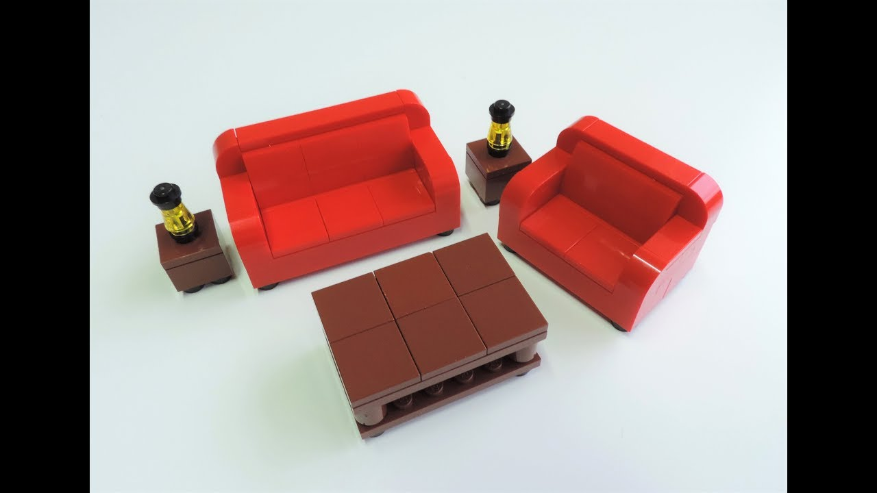 How To Build Lego Furniture Building Instructions For Kids Youtube