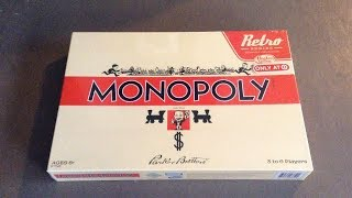 Target Exclusive Monopoly Retro Series 1935 Edition Unboxing