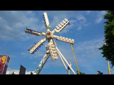 Air, Danter, park hilaria, kermis Eindhoven 06-08-2017 UHD 4K