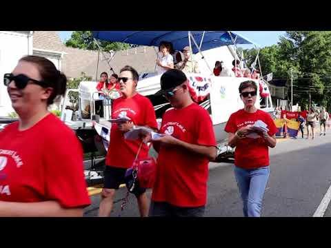 Cartersville Christmas Parade 2019 July 4th Parade   Cartersville, GA 2019   YouTube