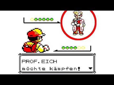 Gegen Professor Eich Kämpfen - Professor Eich Glitch - 1.Gen Glitch Gameboy