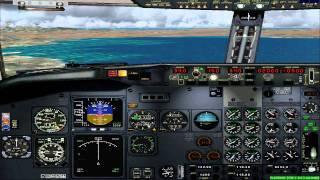 FS2004 - Flight from Faro-Portugal to Palma de Mallorca-Spain with TuiFly B737.mp4