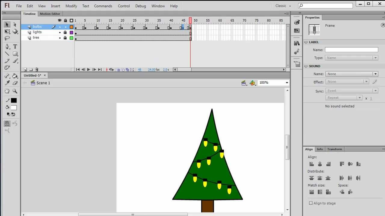 Create a Frame-by-Frame Animation in Flash - YouTube