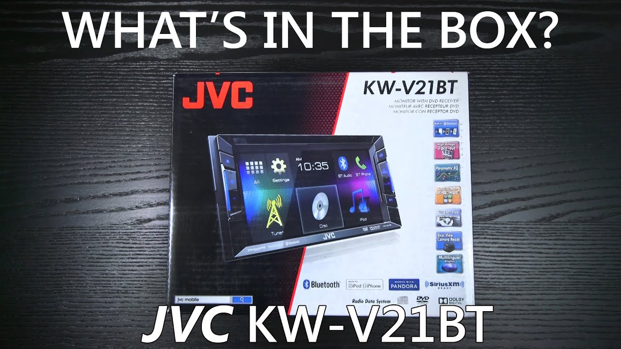 maxresdefault jvc kw v21bt what's in the box? youtube jvc kw-v21bt wiring harness at alyssarenee.co
