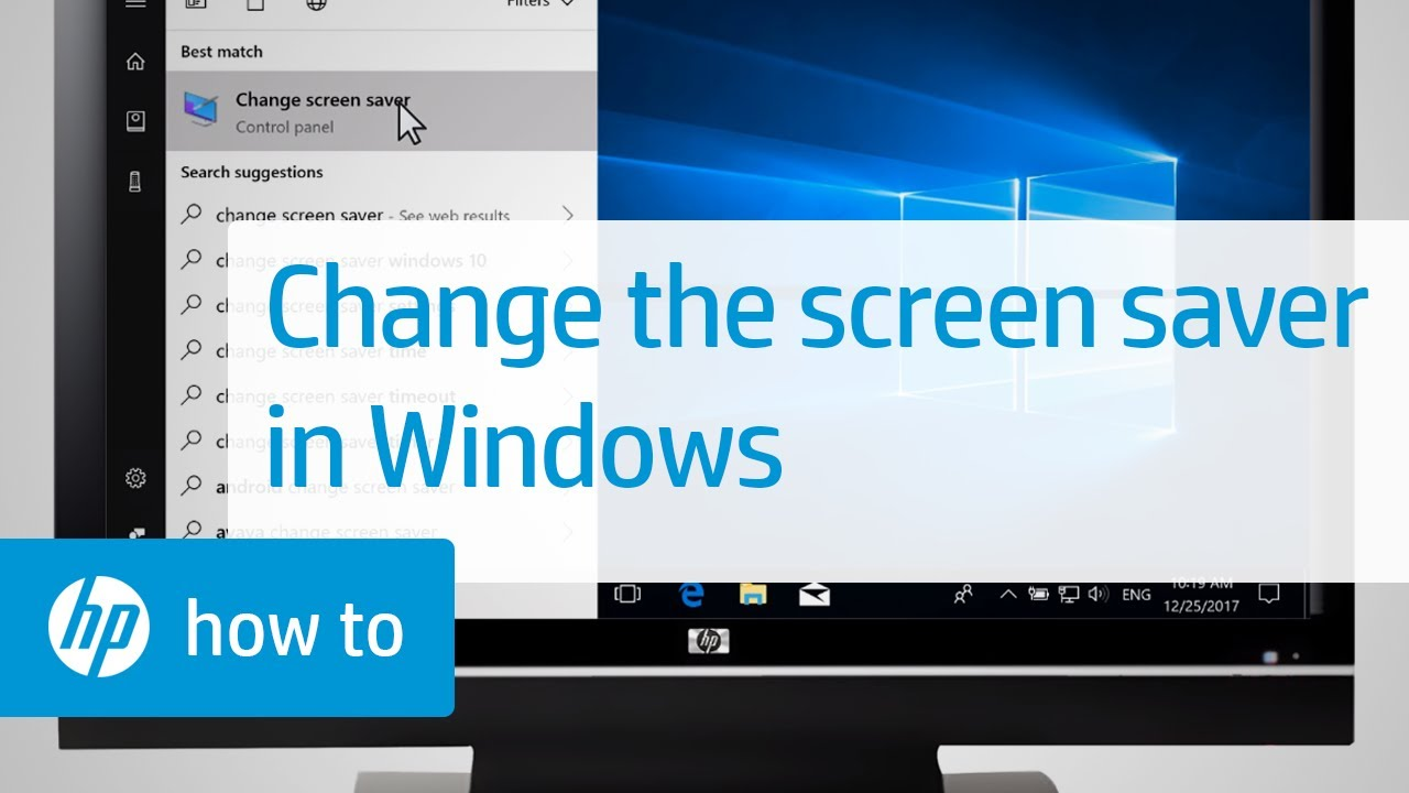 How to change the Windows screensaver 54