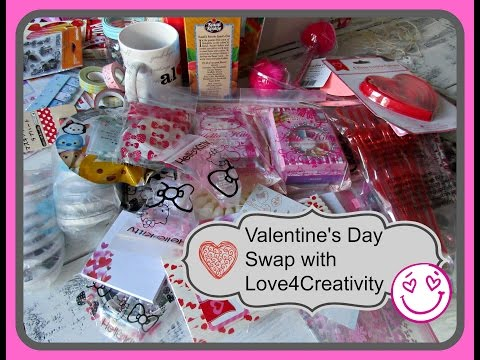 Valentine's Day Swap With Love4Creativity - aSimplySimpleLife