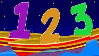 Zahlen Lied 1 -10 | Lern Nummern | Zahlen auf Deutsch | Numbers Song For Kids | Educational Song