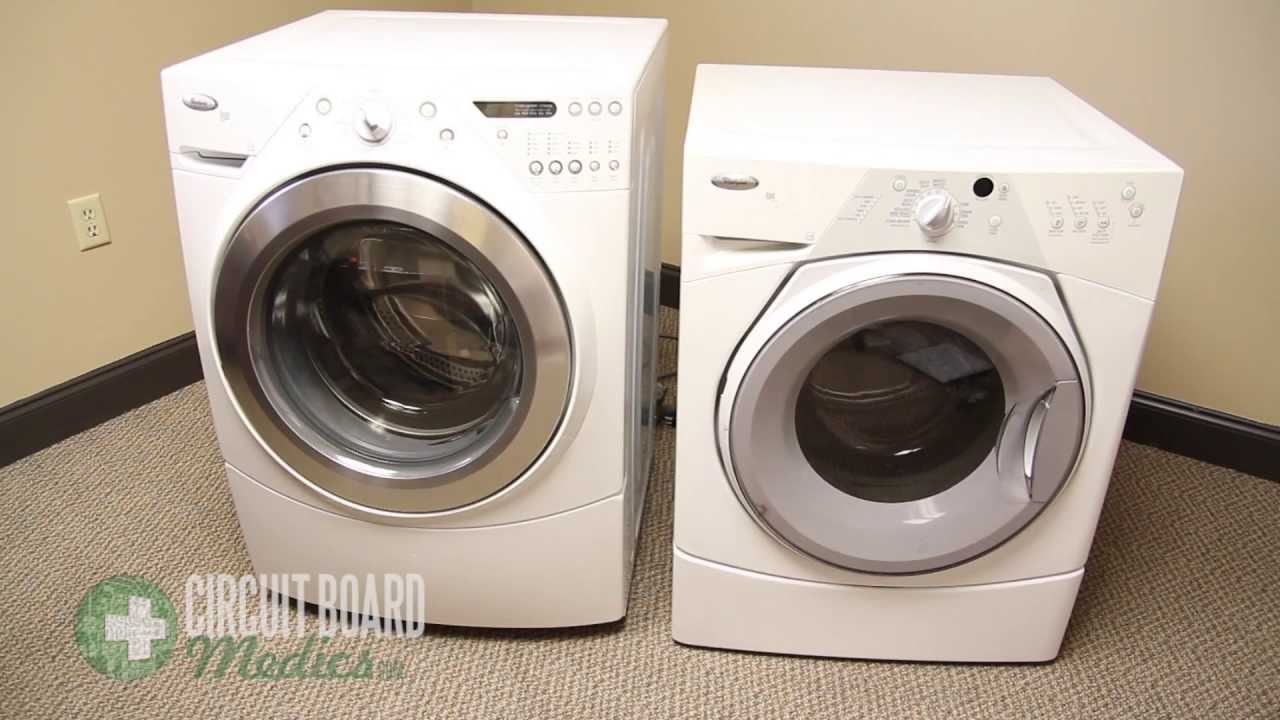 How To Remove The MCU From A Whirlpool Duet WFW (Kenmore