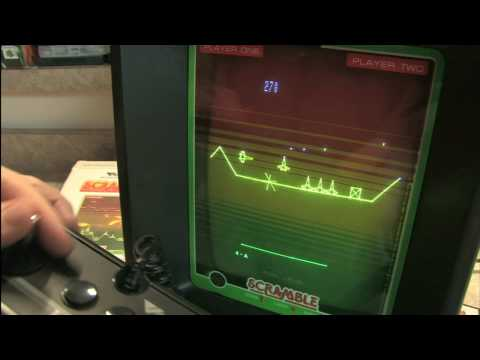 Classic Game Room HD - SCRAMBLE for Vectrex review