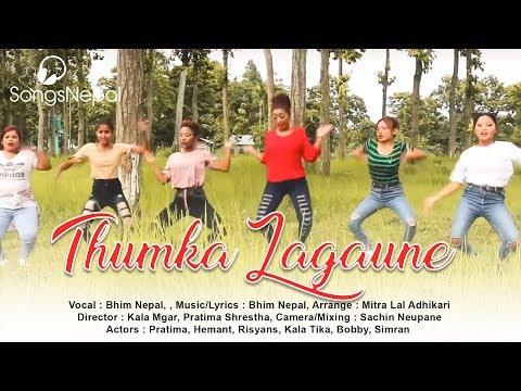 Thumka Lagaune - Bhim Nepal & Jhuma Niroula | Nepali Adhunik Song | 2018 thumbnail