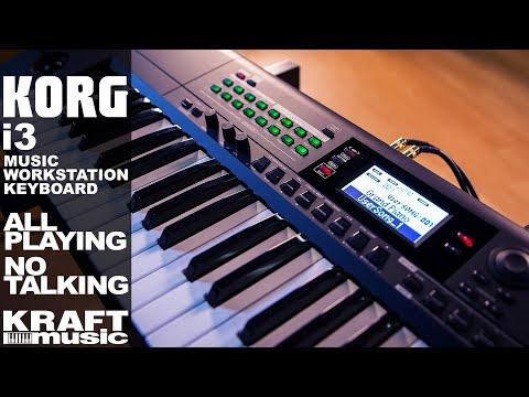 Korg i3 Music Workstation - All Playing, No Talking