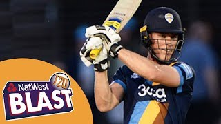 Crucial Game Goes Down To Final Over: Derbyshire Falcons v Durham Jets - NatWest T20 Blast 2017