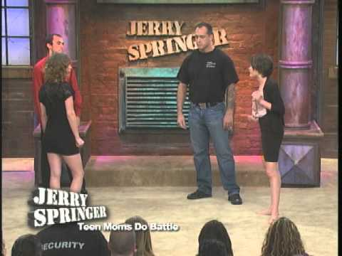 jerry springer young blonde