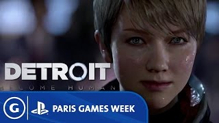 Detroit: Become Human Announcement Trailer - Paris Games Week 2015