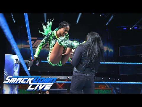 Naomi, Charlotte Flair & Becky Lynch vs. Natalya, Carmella & Tamina: SmackDown LIVE, June 6, 2017
