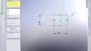 SolidWorks Урок 1 Первая деталь.