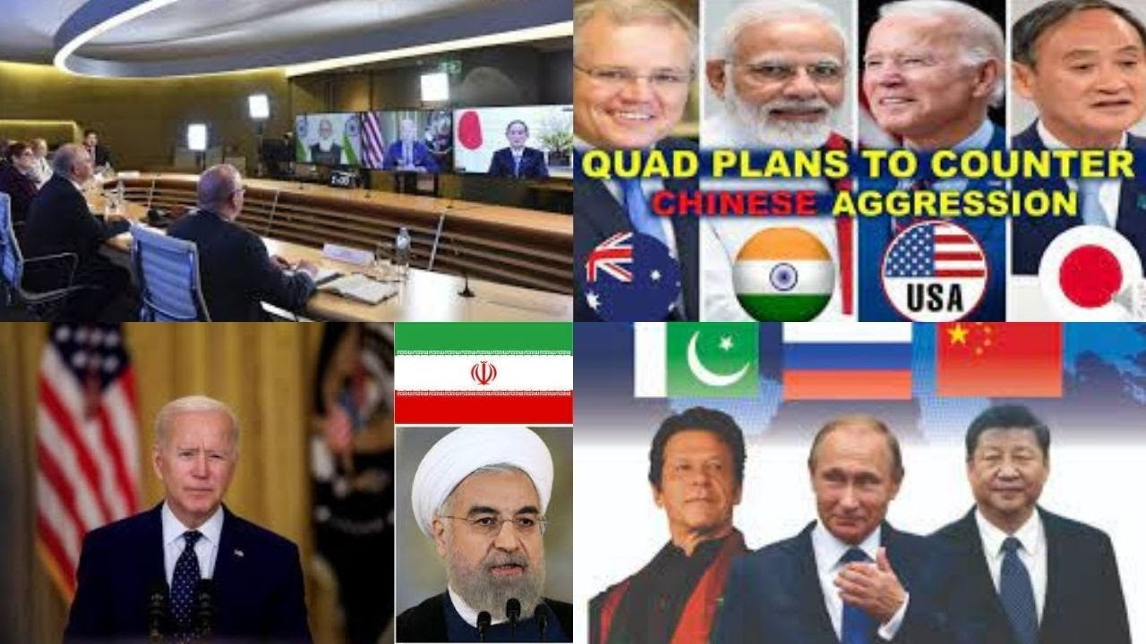 China Russia Iran  Pakistan Alliance In The Works To Counter Quad In The IndoPacific