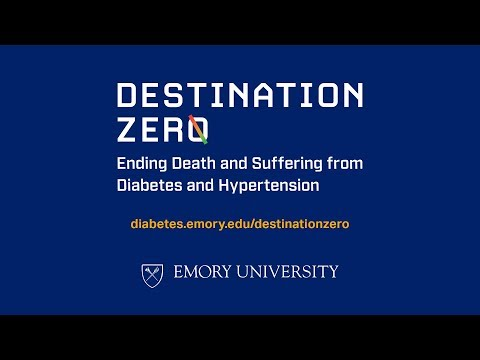 Destination Zero: Ending Death and Suffering from Diabetes and Hypertension