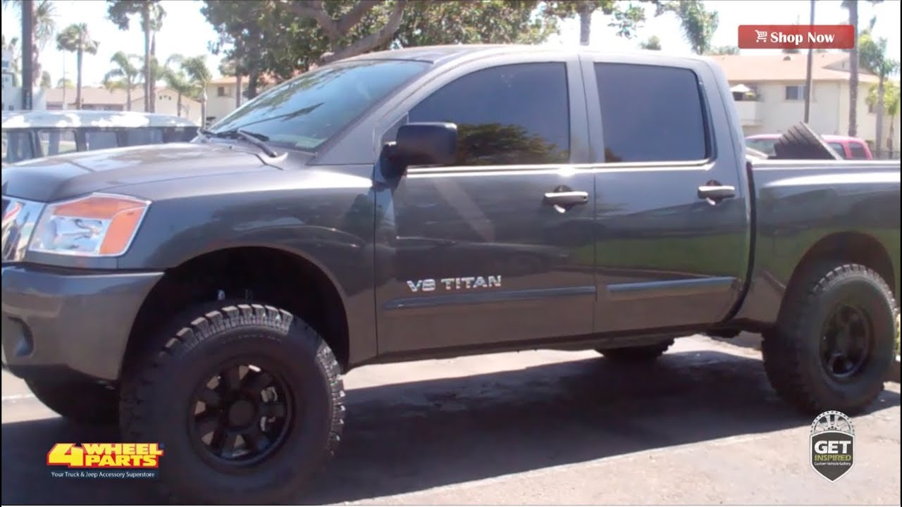Nissan Titan 2012 Build By 4 Wheel Parts Chula Vista CA