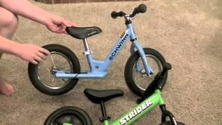 Strider Balance Bike vs Schwinn Balance Bike Review