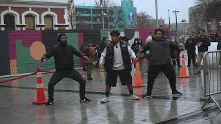 Haka Performed at Black Lives Matter Protest
