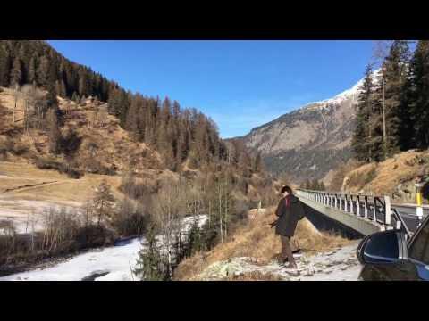 Trip Switzerland, Italy, Austria, Liechtenstein and back to Switzerland in one day