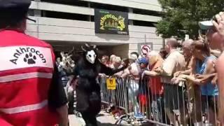 Anthrocon Fursuit Parade 2017