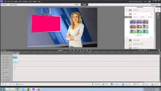Premiere Elements 11 Green Screen / Chroma Key Tutorial