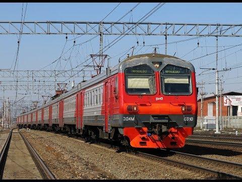Trainz 12: ЭД4М-0310 Рейс: Москва-Курская - Электрогорск.