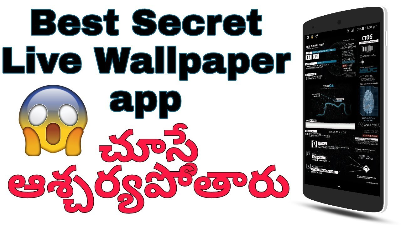 Best Live Wallpaper App Ever | AMAZING Live Wallpaper Apps for Android 2017 | ctOS UI Full ...