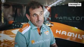 Nicolas Ivanoff, 50 ans, pilote français de l'extrême à la Red Bull Air Race