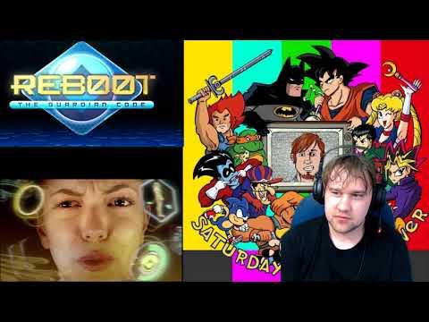 Reboot: Guardian Code Trailer reaction -...