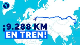 Trans-Siberian: from Moscow to the Pacific on rails