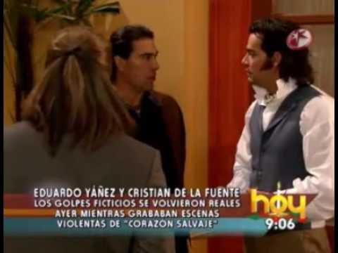 Pleito detrás de cámaras de Eduardo Yañez y Cristian de la Fuente