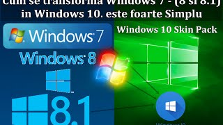 Cum se transforma Windows 7 - (8 si 8.1) in Windows 10 e foarte simplu by RNI