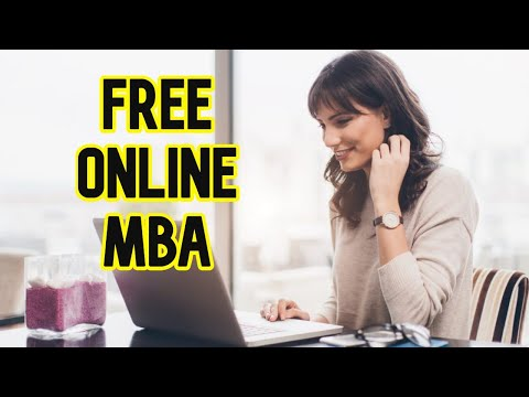 How To Do  MBA Free Online From Top 10 Business Schools