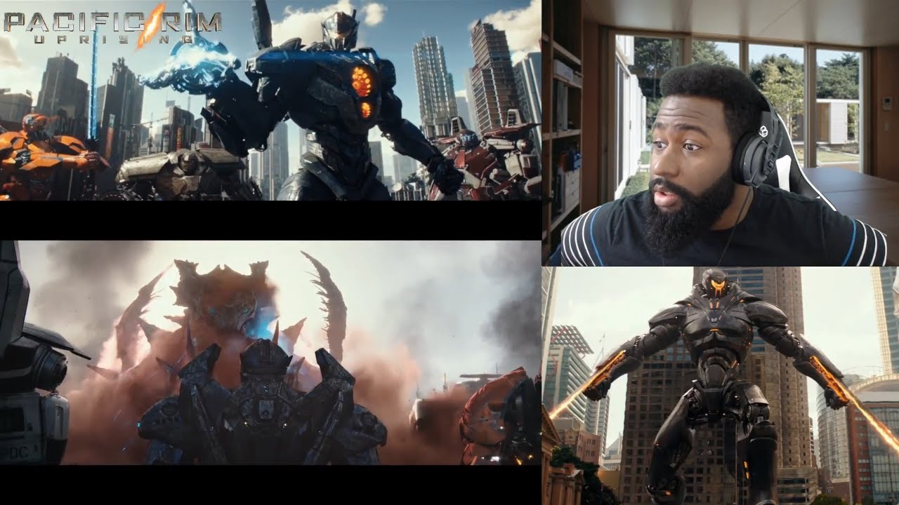 Pacific Rim Uprising – Official Trailer 2 REACTION!