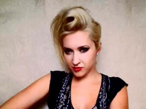 Rockstar hair tutorial faux hawk hairstyle for long hair Rihanna Gwen  Stefani swirl mohawk for women