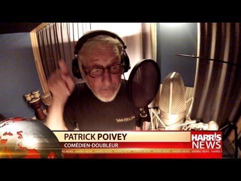 Patrick Poivey (Bruce Willis) en studio