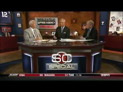 Bill Parcells & Polian Free Agency - YouTube