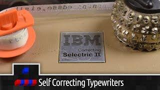 Typewriter Correction Methods: Pt1 Self Correcting