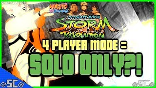 ●News/Update - 4 Player Mode = SOLO ONLY?! | NARUTO REVOLUTION【HD】●
