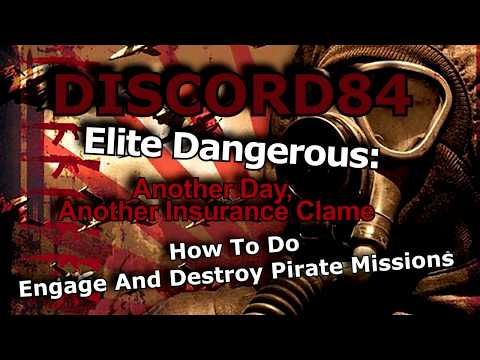 Elite Dangerous: How To Do Engage And Destroy Pirate Missions