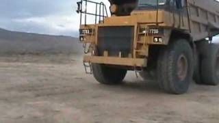 HUGE Dump truck Jumped!!!