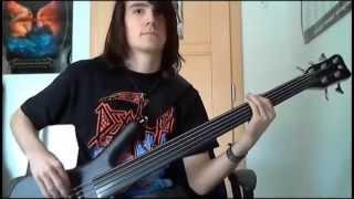 Opeth - To bid you farewell (on fretless bass)