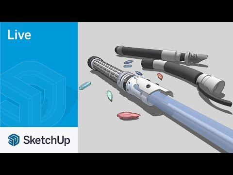 Modeling a Lightsaber Live with Tyson!